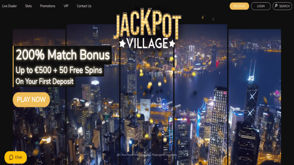 JackpotVillage Casino Review