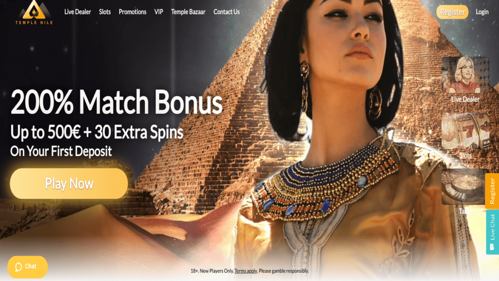 TempleNile Casino Review