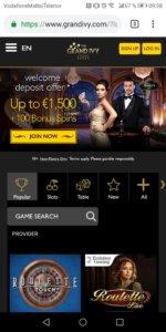 GrandIvy Mobile Casino